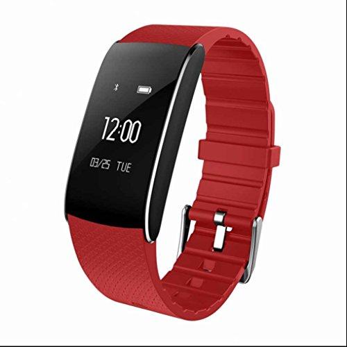 Sport Smart watch Band montre connectée Bracelet Sport Étanche IP67 Intelligent,Bracelet intelligent fréquence cardiaque moniteur,Tension artérielleContrôle de Caméra,Montre Fitness Compatible avec Android et IOS Smartphone