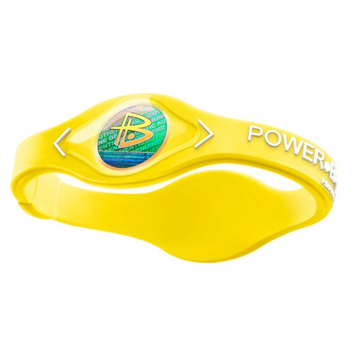 Power Balance / GWSA09BK00WTLP Bracelet silicone Néon Jaune/Blanc