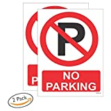 NO PARKING SIGN BOARD PACK OF 2(200X150)