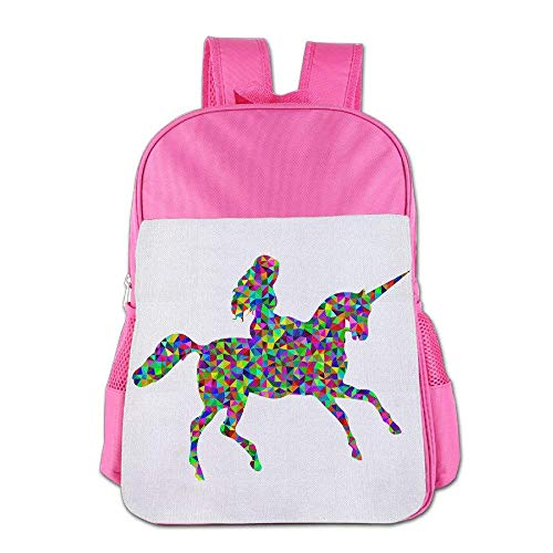 Always Be A Unicorn Children Schoolbag School Bag School Bagpack Bag For 4-15 Years Old Pink S8
