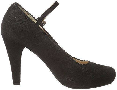 Stockerpoint Damen Schuh 6005 Pumps Schwarz (Schwarz)