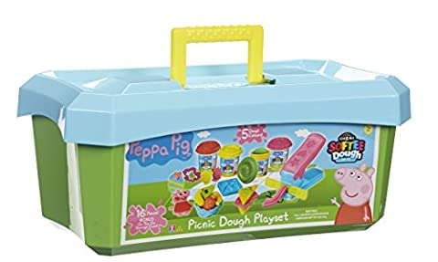 Peppa Pig Picnic Dough Playset (Multi-Colour)