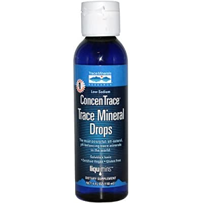 Trace Minerals ConcenTrace Trace Mineral Drops 4 fl.oz from Trace Minerals Research