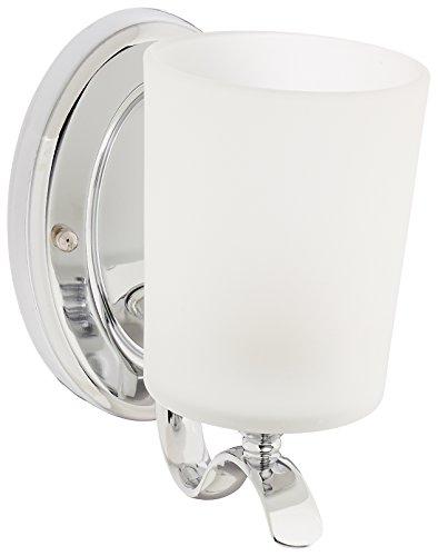 Progress iluminación P2018inspirar 1Light cuarto de baño lámpara de pared con cristal...