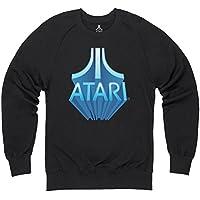 Official Atari 3D Logo Felpa girocollo, Uomo