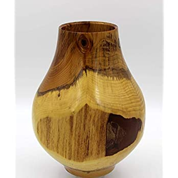 Vase aus Eibe