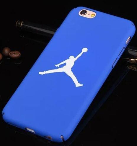 Coque Iphone 6 ou 6s Air J. Basketball Bleu (livraison gratuite en France)