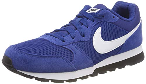 Nike Herren MD Runner 2 Sneakers Blau (Gym Blue/White/Black 001) 43 EU