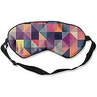 Comfortable Sleep Eyes Masks Colourful Square Printed Sleeping Mask For Travelling, Night Noon Nap, Mediation... preisvergleich bei billige-tabletten.eu