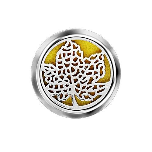ZHONGYU Ambientador automático para Coche, Clip de ventilación de Coche de Acero Inoxidable, Perfume portátil, difusor de Aceite Esencial para Oficina, Viajes, hogar