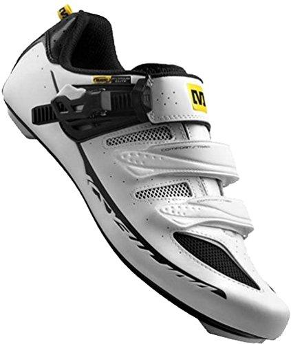 Mavic Ksyrium Elite Rennrad Fahrrad Schuhe schwarz/weiß 2015: Größe: 43 -