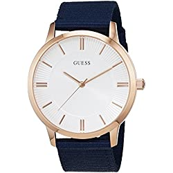 Guess Reloj con Movimiento japonés Man Escrow W0795G1 44 mm
