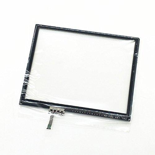 Meijunter Ersatz LCD Touch Screen Digitizer Lens Case LCD-Touchscreen-Digital wandler für Nintendo 3DS Console Color schwarz Touch-screen-linse Digitizer