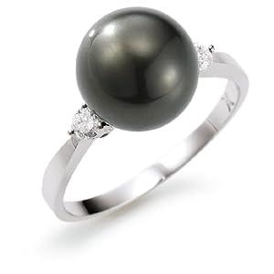 Adriana Damen-Ring Tahiti Zuchtperle 585 Weißgold Stella Di Notte N14