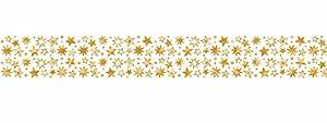 Ursus 58990006Masking Tape Estrellas Oro, 30mm x 10m, 1Rollo