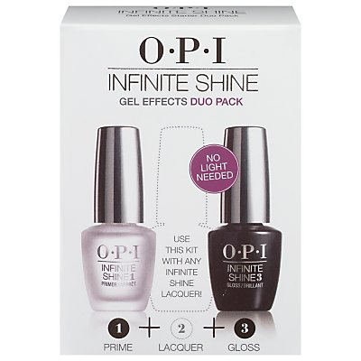 OPI Infinite Shine Base & Top Coat Duo, 2 x 15ml