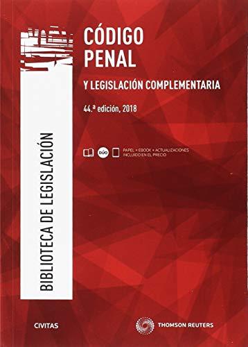 Código penal y legislación complementaria (Biblioteca de Legislación) por Julio Díaz-Maroto y Villarejo
