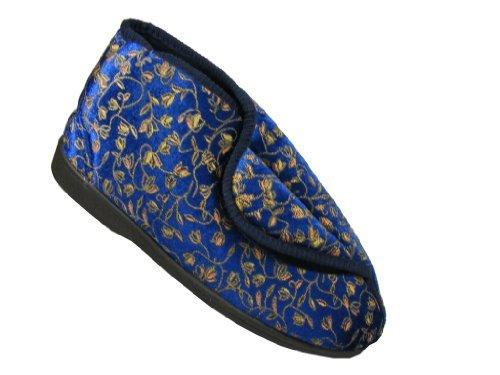 Footwear Studio , Chaussons pour femme Bleu bleu 38.5 (6 UK)