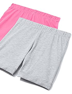 RED WAGON Pantalones Cortos para Niñas Pack x 2
