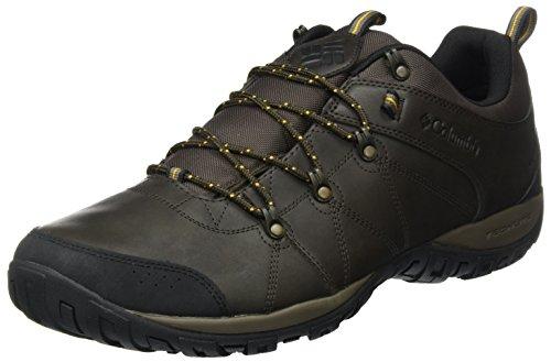 Columbia Peakfreak Venture Waterproof, Chaussures Multisport Outdoor Homme Marron (Cordovan/squash 231)