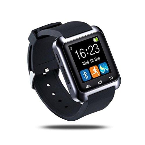Sannysis® Astuto da polso Watch Phone Mate Bluetooth 4.0 per