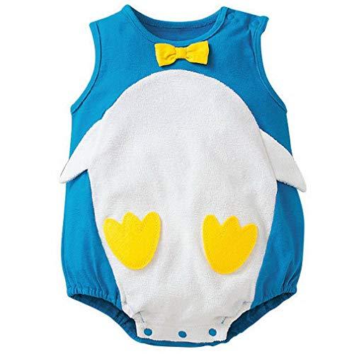 YiyiLai YiyiLai In-Outdoor Kind Neugeborene Junge Mädchen Kleidung Set Outfit Babykleidung Strampler Bodysuit Playsuit 80 Blau