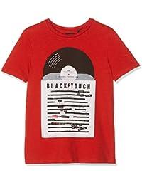 IKKS T Shirt Rouge Disque Vinyle 4bda2bbb761