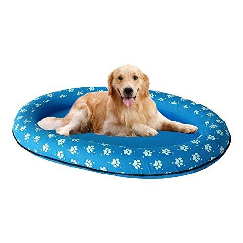 BATHTUPA Erwachsene Schwimmende Reihe Hund Schwimmbad Float, Aufblasbarer Schwimmring, Aufblasbar Schlauchboot Hunde Boot Haustier Luftmatratze Schwimmbad Strand Spielzeug für drinnen und draußen (Boot Spielzeug, Float)