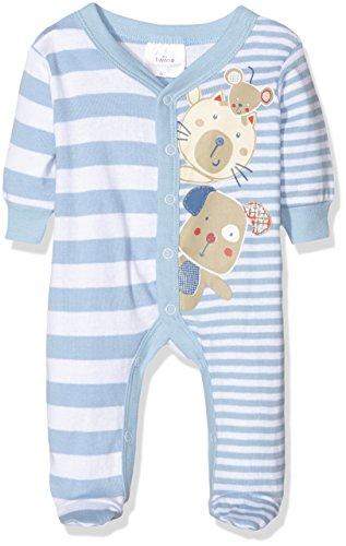 Twins Baby-Jungen Schlafstrampler, Blau (Hellblau 4002), 74