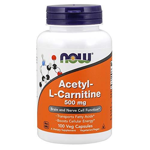 Now Foods Acetyl L-Carnitine Standard - 500mg, 100 Cápsulas