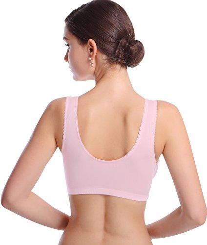 Cimary Confortable Maternité Soutien-Gorge, d'Allaitement Femme Sommeil Soutien-Gorge pink