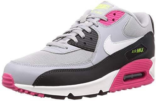 52998e9b8 Nike Air MAX 90 Essential, Zapatillas de Atletismo para Hombre, (Wolf Grey/