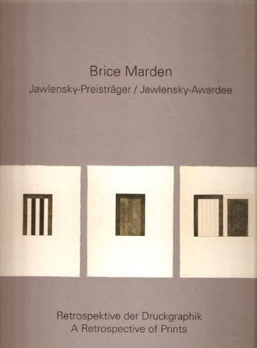 Brice Marden, Jawlensky-Preisträger: Retrospektive der Druckgraphik ; Museum Wiesbaden, 28. September 2008 - 18. Januar 2009