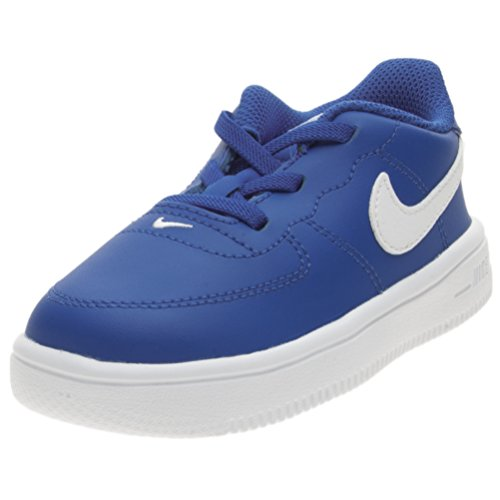 wholesale dealer 9ba98 d0413 Nike Force 1  18 (TD) Chaussures de Basketball Mixte Enfant, Bleu (
