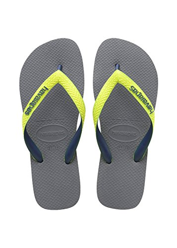 havaianas-kinder-flip-flops-top-mix-grosse-31-32-steel-grau-led-gelb-fluor-zehentrenner-fur-kinder