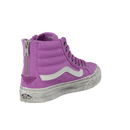 Vans Sk8 Hi Slim Zip chaussures Radiant Orchid