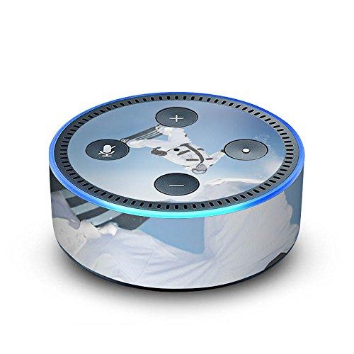 DeinDesign Amazon Echo Dot 2.Generation Folie Skin Sticker aus Vinyl-Folie Snowboard Snow Schnee Echo-snowboard