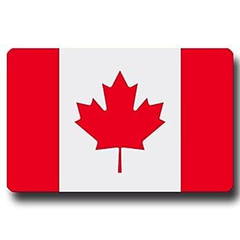 Kühlschrankmagnet Flagge Kanada – 85×55 mm – Metall Magnet mit Motiv Länderflagge