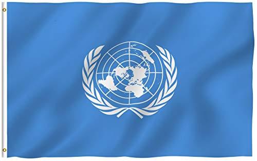 Bank New York (Vereinten Nationen + EU-Flagge)