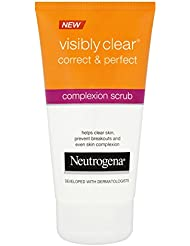 Neutrogena Visibly Clear Correct and Perfect Daily Scrub 150 ml