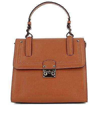 Valentino-Garavani-Womens-MW2B0164VIT021-Orange-Leather-Handbag