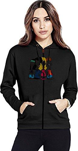 The roger smith family Womens Zipper Hoodie Medium Baker Usa-sweatshirt