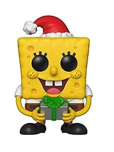 Funko Figurines Pop Vinyl Squarepants: Spongebob Xmas Collectible Figure, 33923, Multicolour