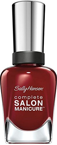 Sally Hansen Complete Salon Manicure Nagellack Nr. 610 Red Zin, 1er Pack (1 x 15 ml) - Sally Hansen Unterlack