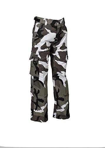 Robuste + Komfortable US Style Kinder Jungen Mädchen Rangerhose Freizeithose Kampfhose viele verschiedene Farben S-XXXL (XXL (170/176), (Mädchen Militär Kostüme)