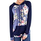 Ieason Women Top, Women Casual Long Sleeve Printting Pullover Blouse Shirts Sweatshirt