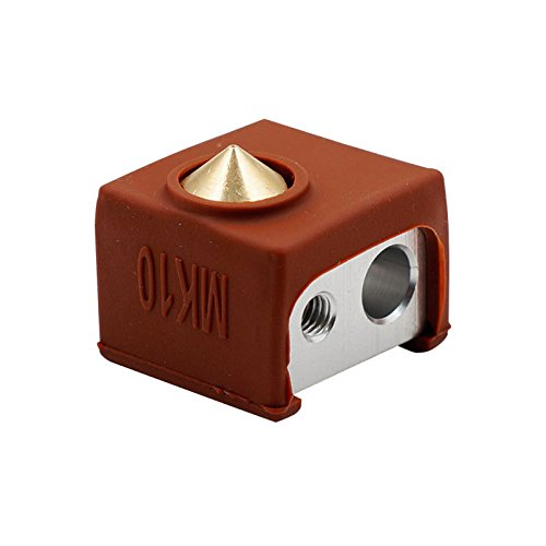 PerGrate MK10 Extruder Hotend Kit Beheizte Block Düse Gewinde Heatbreak Kehle Silikon Abdeckung 3D Drucker Teile - Kehle Kit