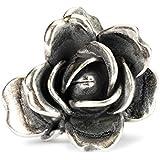 Trollbeads Beads in argento 925 Rosa di Giugno 51743