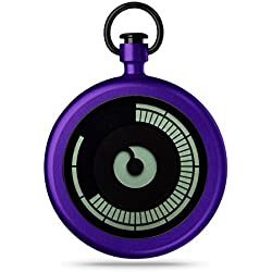 ZIIIRO Pocket Watch - Titan - Purple