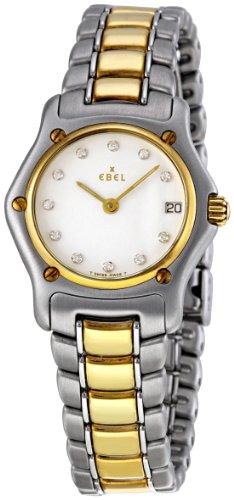 Ebel Women's 1088901/0960C Classic Lady White Dail Watch